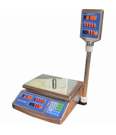 Торговые весы: BTД-ЕЛС