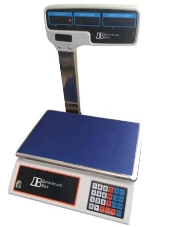Торговые весы: BTЕ-ДВ